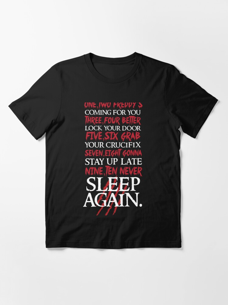 Alternate view of 1, 2 Freddy's Coming For You... Essential T-Shirt