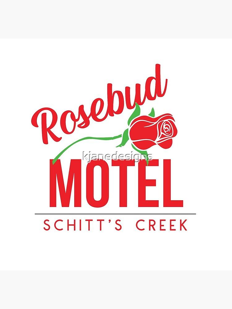 Rosebud Motel by kjanedesigns