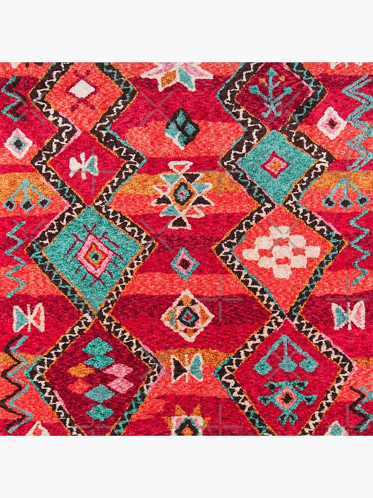 Traditional Colored Anthropologie Bohemian Moroccan ARTWORK by Arteresting