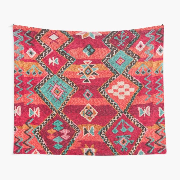 Traditional Colored Anthropologie Bohemian Moroccan ARTWORK Tapestry