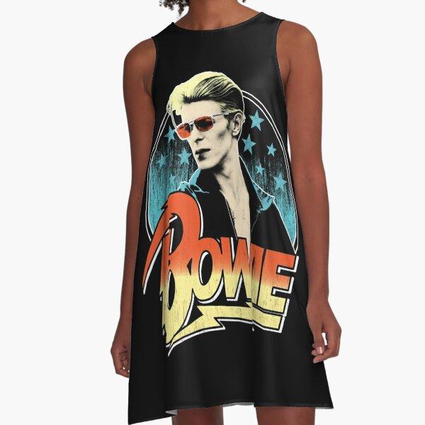 David Bowie Pop Art A-Line Dress