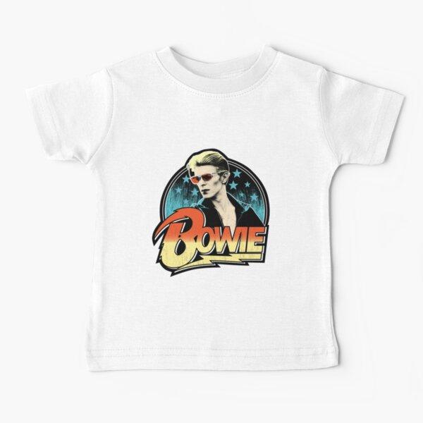 David Bowie Pop Art Baby T-Shirt
