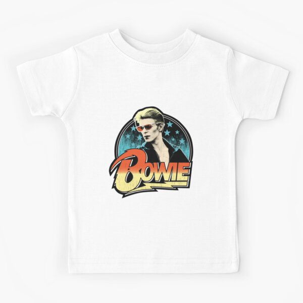 David Bowie Pop Art Kids T-Shirt
