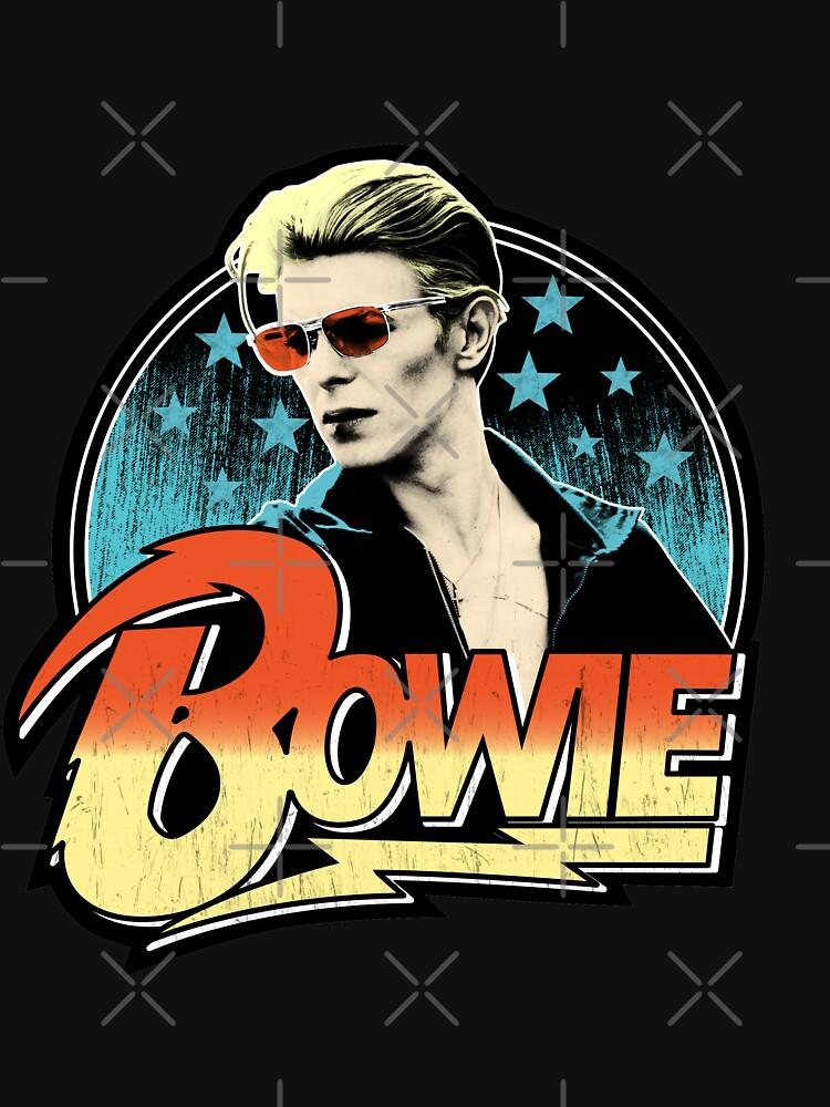 David Bowie Pop Art by milfburnscully