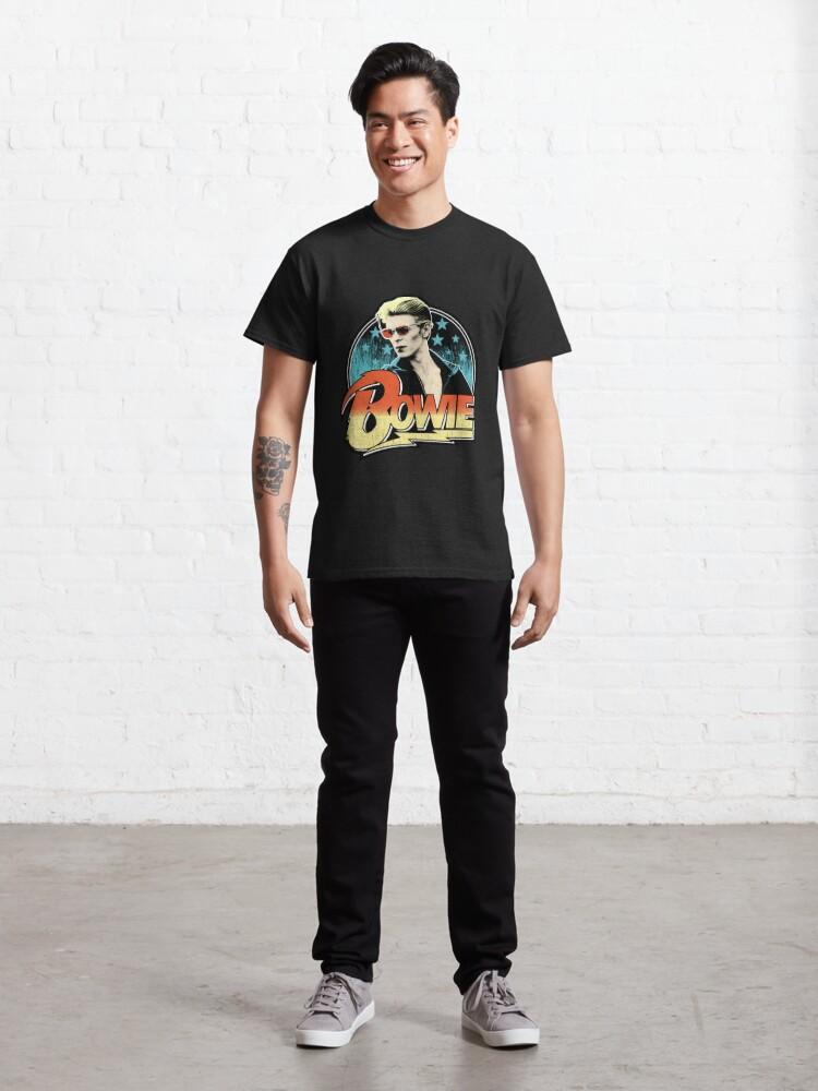 Alternate view of David Bowie Pop Art Classic T-Shirt