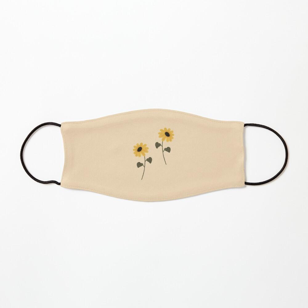 Sunflower aesthetic Mask