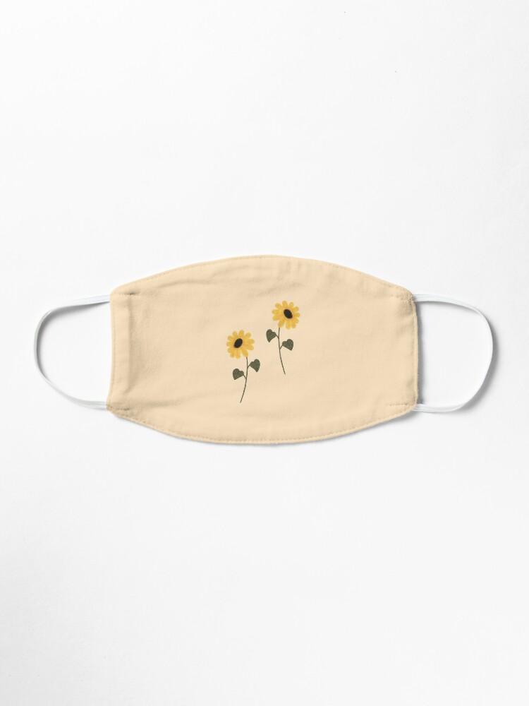 Alternate view of Sunflower aesthetic Mask