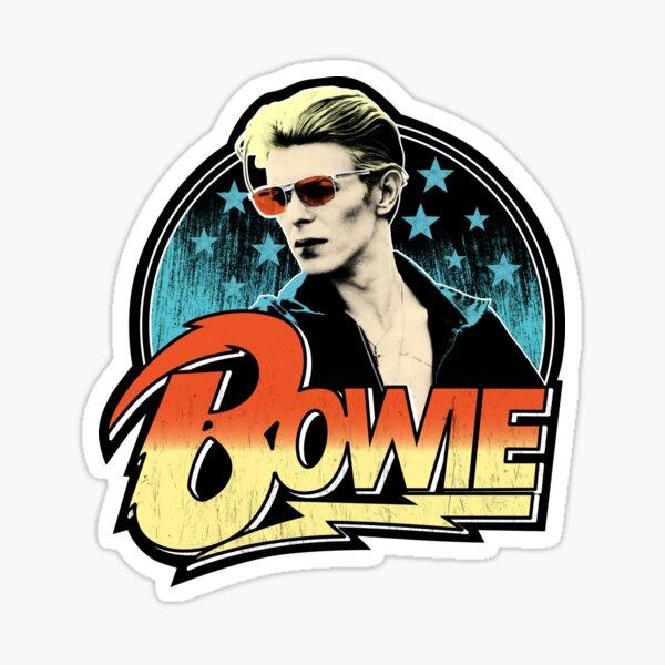 David Bowie Pop Art Sticker
