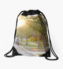 Suburbia Drawstring Bag