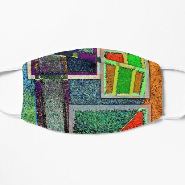 OG Mirror - Abstract Digital Painting Wall Art Original Geometric Painting Flat Mask