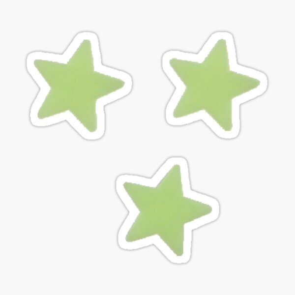 glow in the dark stars *dont actually glow Sticker