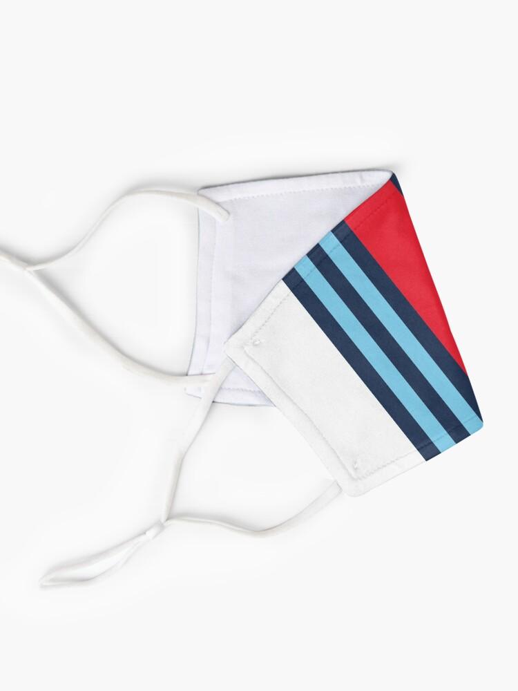 Masque ''Martini Racing Stripe': autre vue