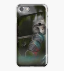 Downed Helicopter iPhone Case/Skin