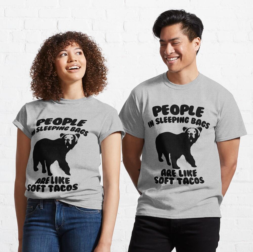 Camping Humor - Bear Food Classic T-Shirt