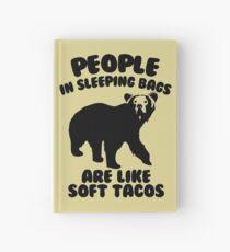 Camping Humor - Bear Food Hardcover Journal