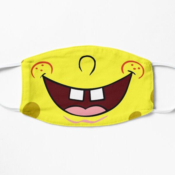 Bob esponja sonrisa Mascarilla plana