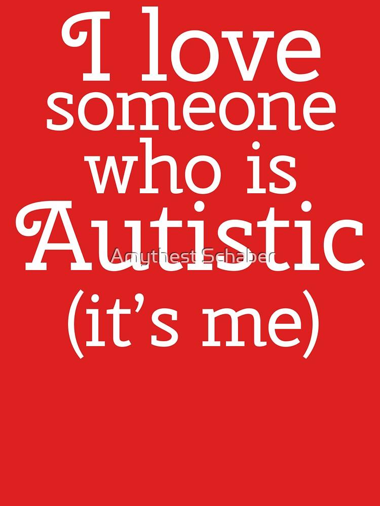Amo a alguien que es autista (soy yo) de amythests