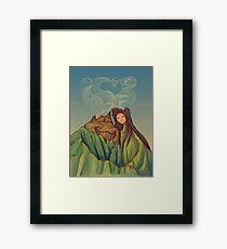 Lava Love Framed Print
