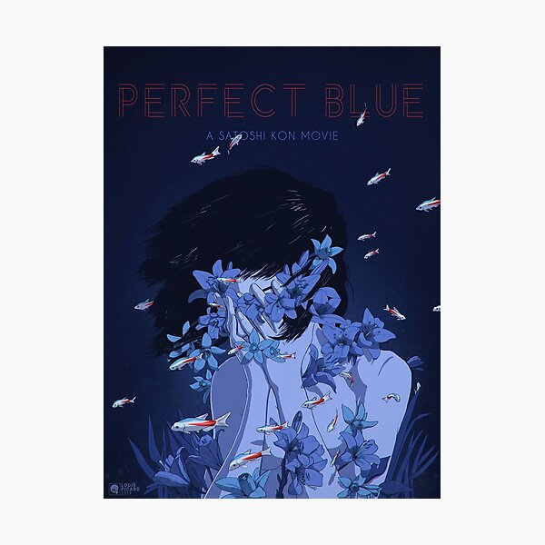 Perfect Blue Poster Photographic Print
