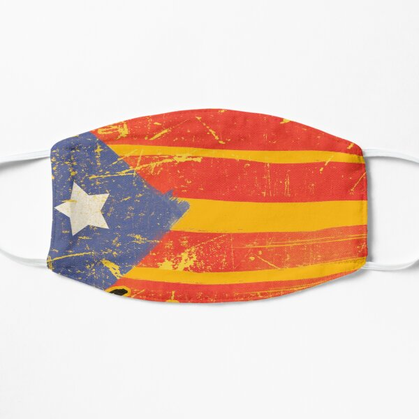 Catalonia Independence Catalan Masque sans plis