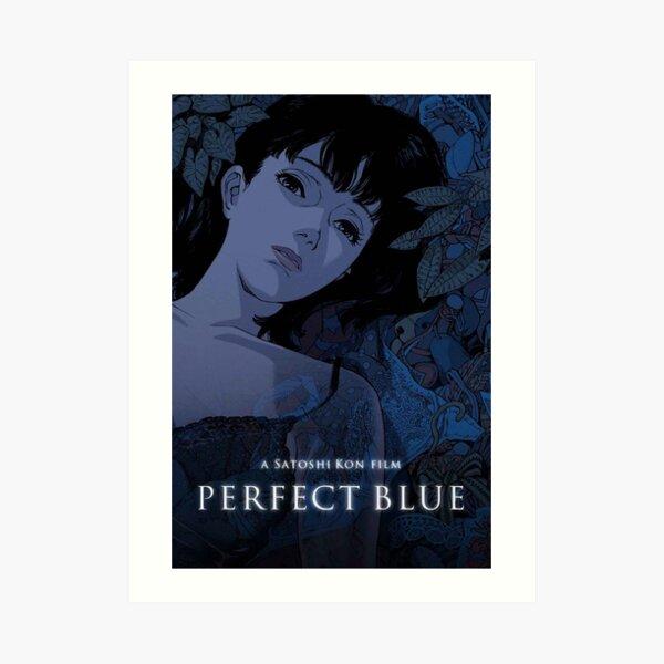Affiche bleue parfaite Impression artistique
