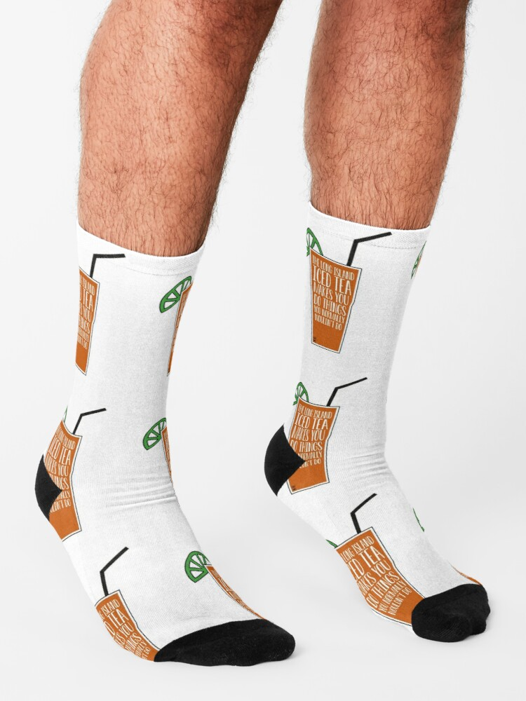 Alternative Ansicht von Der Long Island Eistee Socken