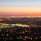 Pretoria at night #2 by Rudi Venter