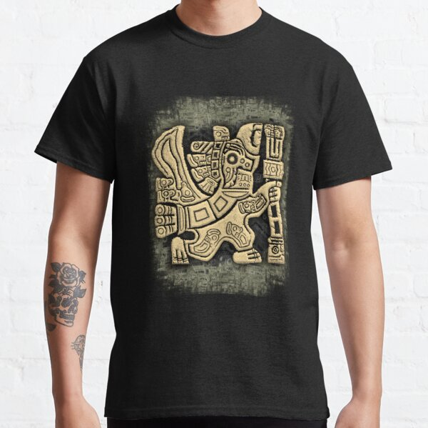 Aztec Eagle Warrior Classic T-Shirt
