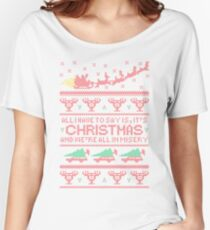 Christmas Vacation Misery Women's Relaxed Fit T-Shirt