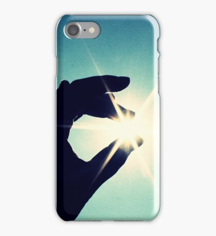 holding the sun iPhone Case/Skin
