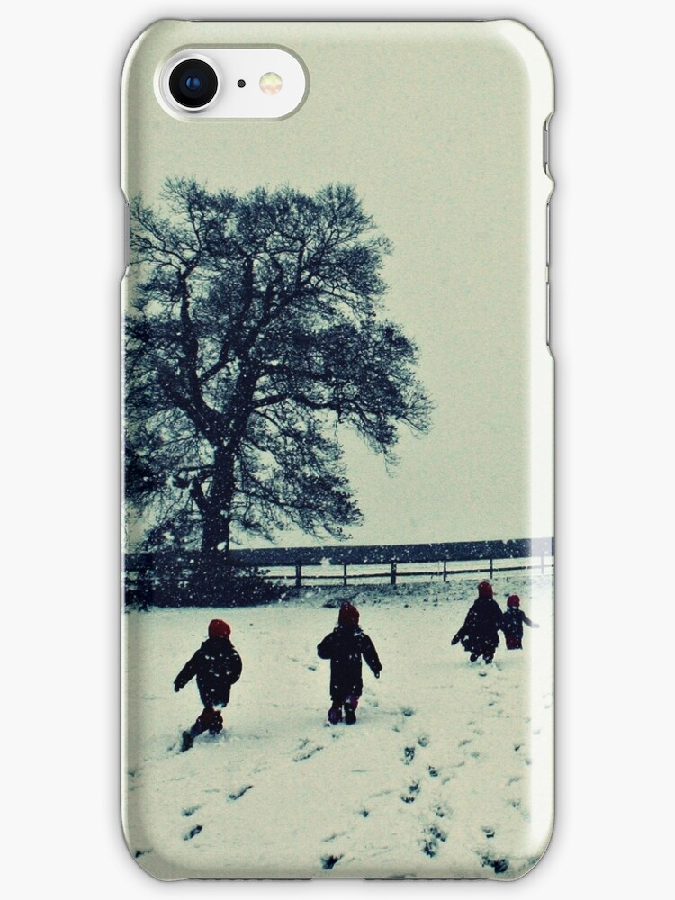 England covered in snow by Fiona Christensen