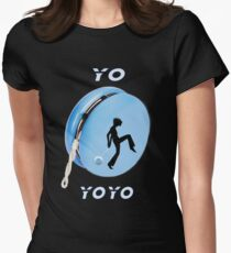 ☀ ツ YO-YoYo-TEE SHIRT-DUVET-JOURNAL-PILLOW- SCARF ECT. ☀ ツ Womens Fitted T-Shirt
