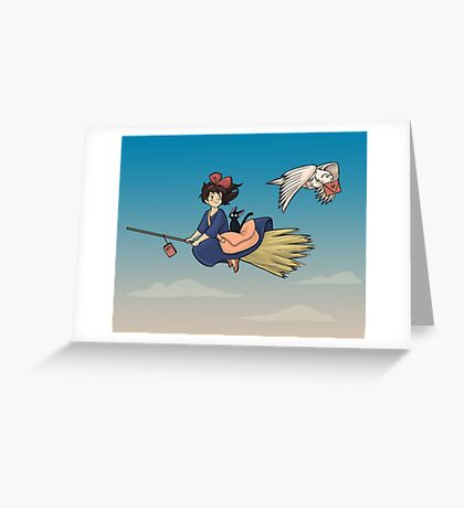 Magical Deliveries Greeting Card