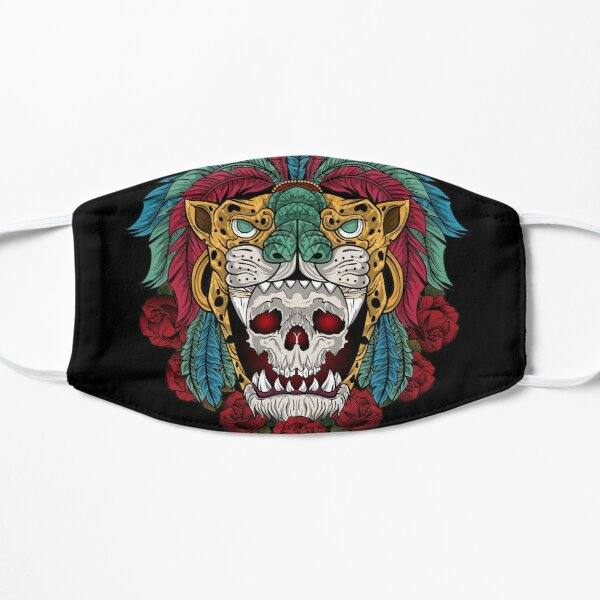 aztec warrior jaguar Mask