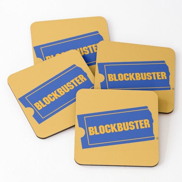 Blockbuster Coasters (Set of 4)