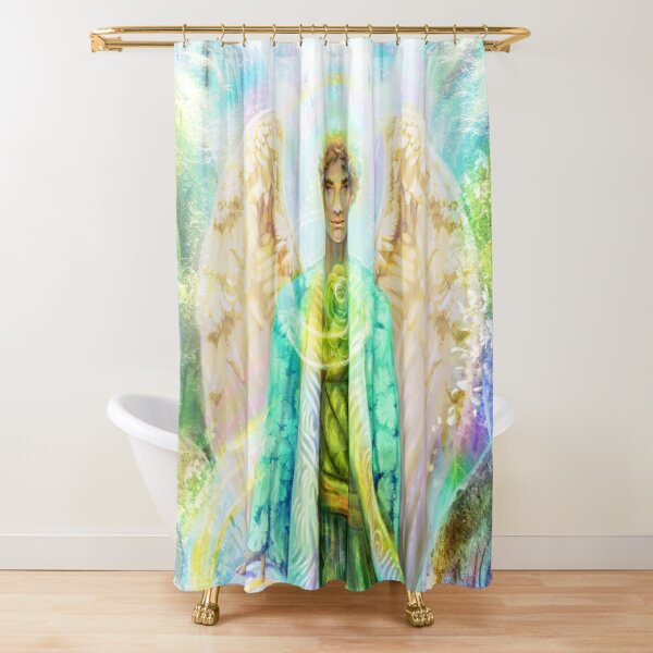 Raphael's Glade Shower Curtain