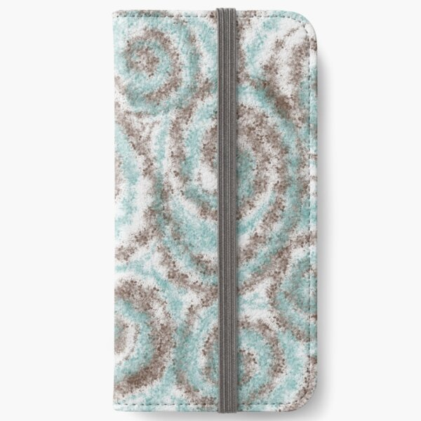 Swirl and Twirl iPhone Wallet