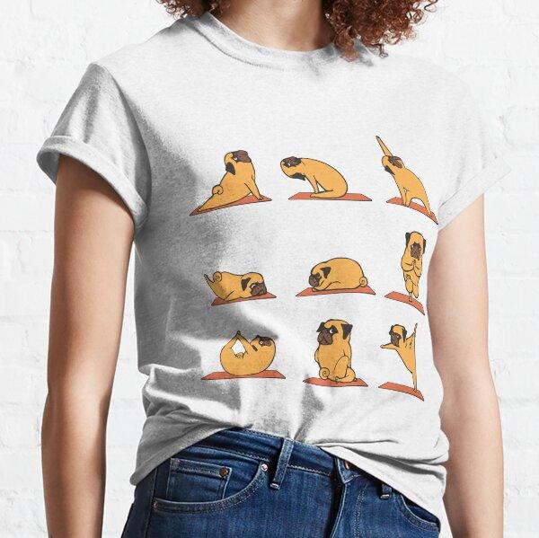 Pug Yoga Classic T-Shirt