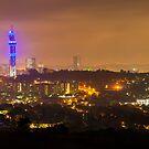 Pretoria at night #4 by Rudi Venter