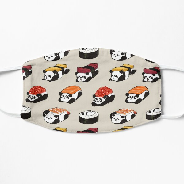 SUSHI PANDA Flat Mask