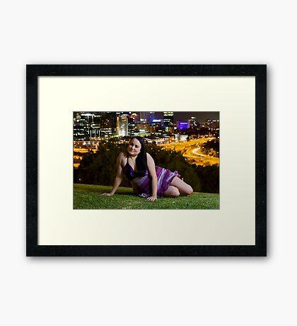 Kristy , King Park Framed Print