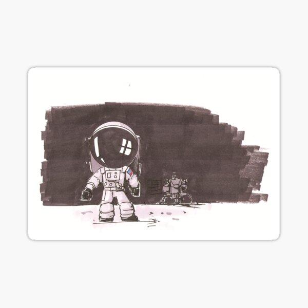 The Next Generation Astronaut Sticker