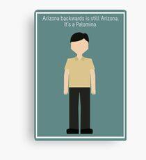 "Senor Chang: ""Arizona"" Canvas Print"