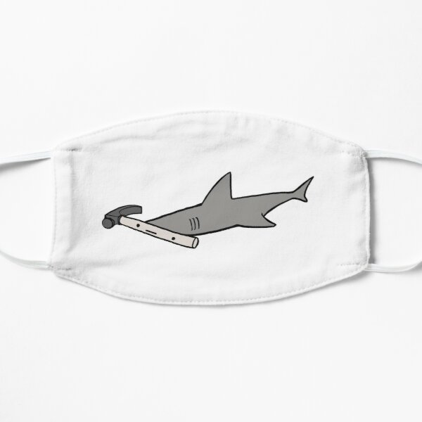 Hammerhead Shark Flat Mask