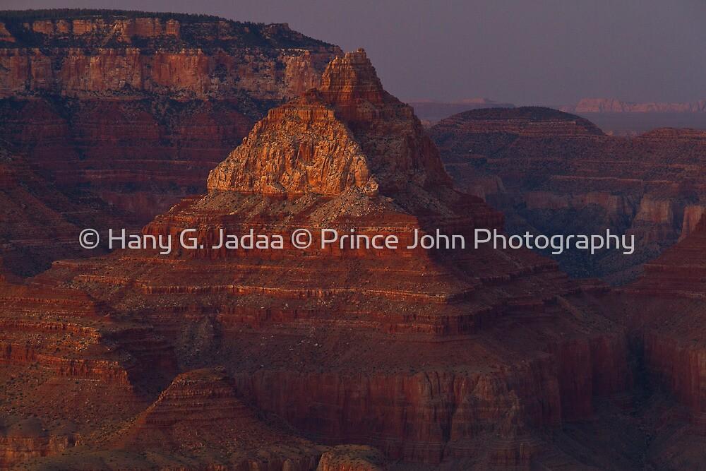 The Grand Grand Canyon - Southern Rim - 16 - The Last Light ©  by © Hany G. Jadaa © Prince John Photography