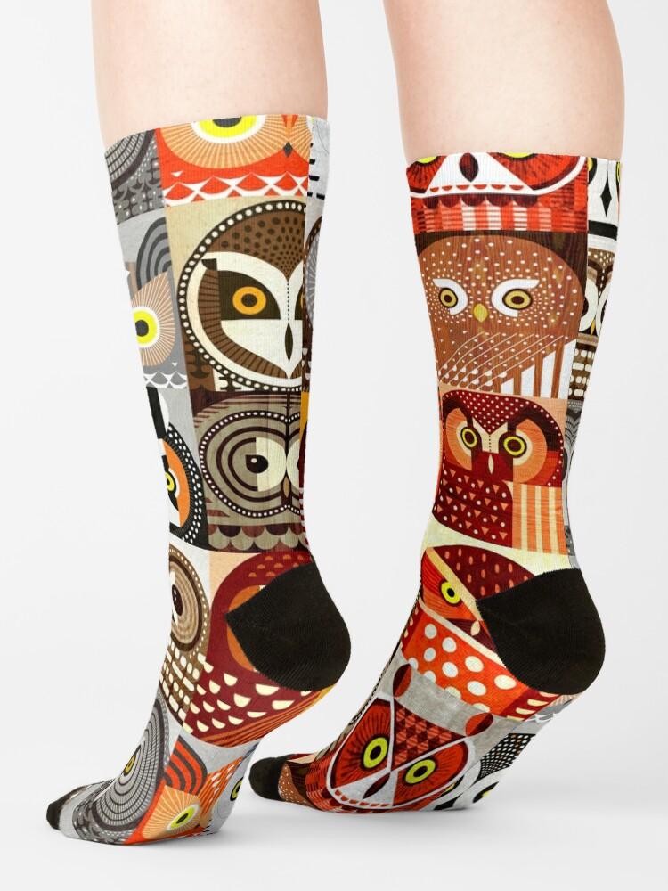 Alternate view of North American Owls Socks