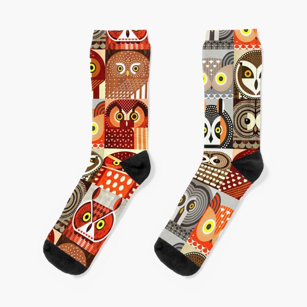 North American Owls Socks