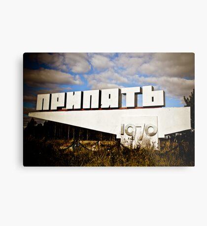 Sign Metal Print