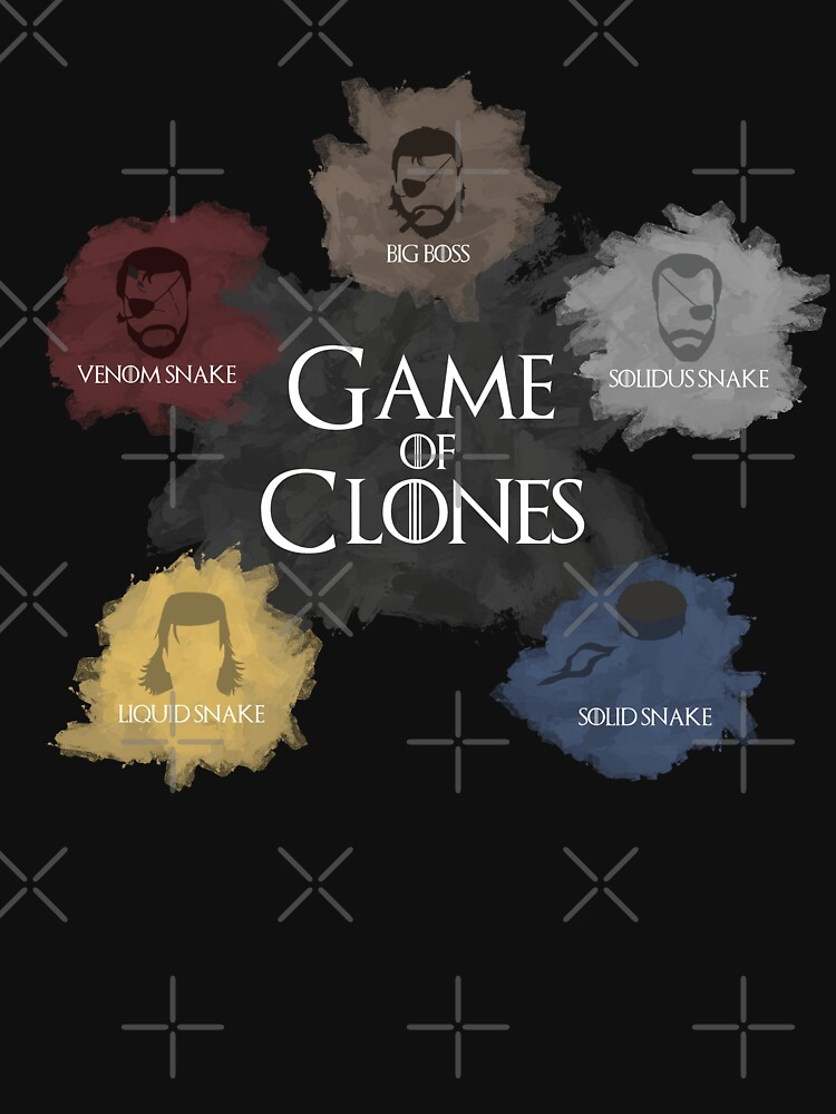 Game of Clones Metal Gear | Unisex T-Shirt