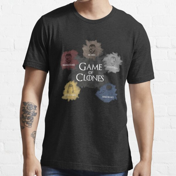 Game of Clones Metal Gear Essential T-Shirt